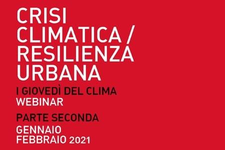 Crisi climatica e resilienza urbana